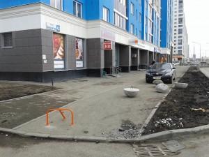 Установка парковочного барьера для магазина e96