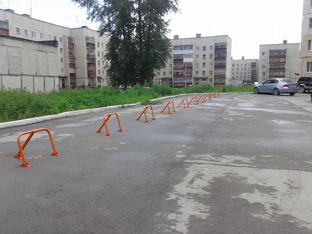 Парковка без дорожной разметки